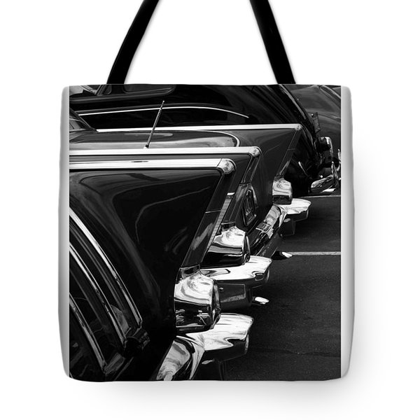 Tote Bag featuring the photograph Chrome by Steve Godleski