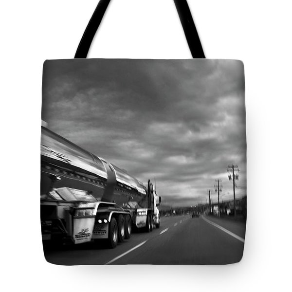 Chrome Tanker Tote Bag