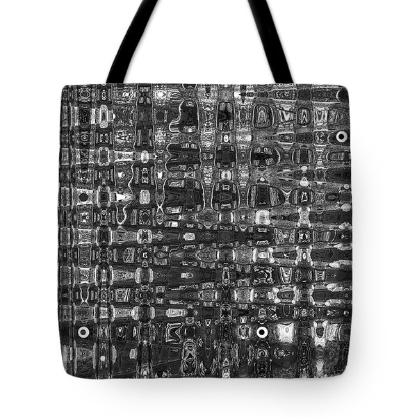 Tote Bag featuring the photograph Chromosome 22 Bw by Diane E Berry