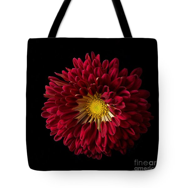Chrysanthemum 'red Wing' Tote Bag