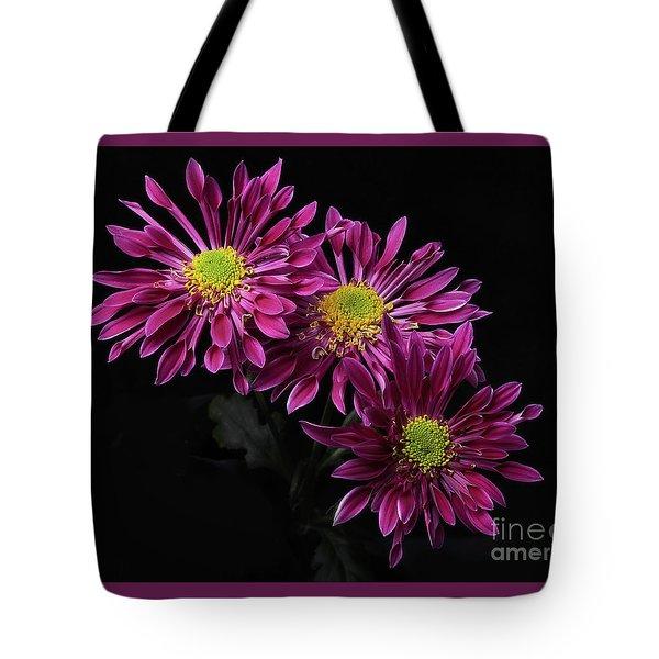 Chrysanthemum 'saba' Tote Bag