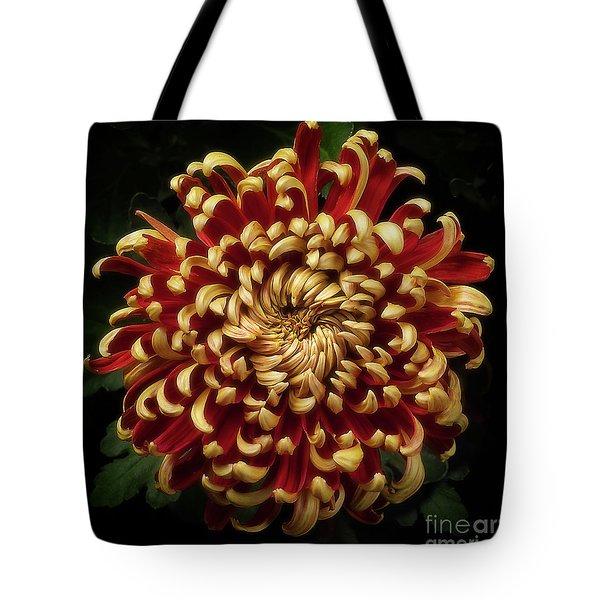 Chrysanthemum 'st Tropez' Tote Bag