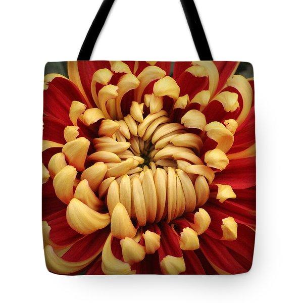 Chrysanthemum In Full Bloom Tote Bag