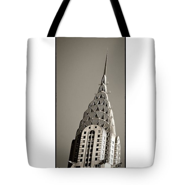 Tote Bag featuring the photograph Chrysler Building New York City by Juergen Held