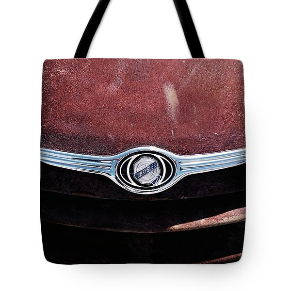 Chrysler Hood Tote Bag