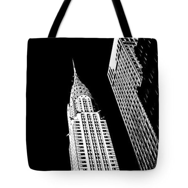 Chrysler Nights Tote Bag