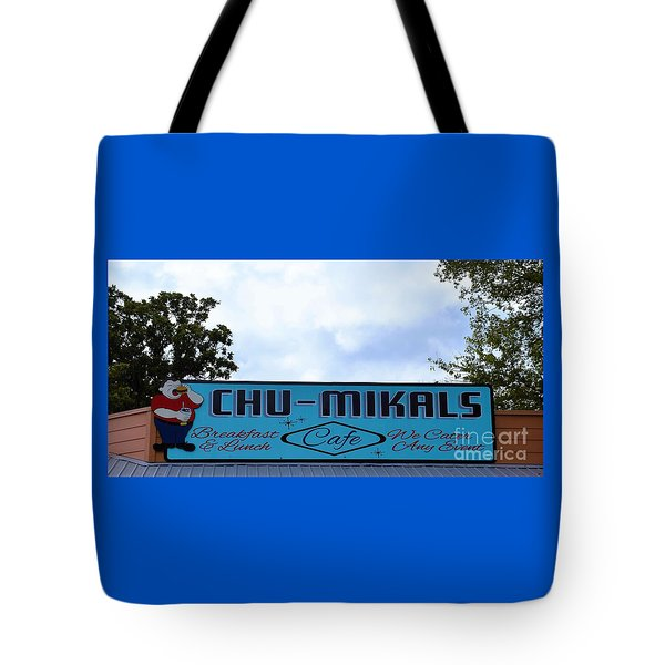 Chu - Mikals - Friendly Austin Texas Charm Tote Bag