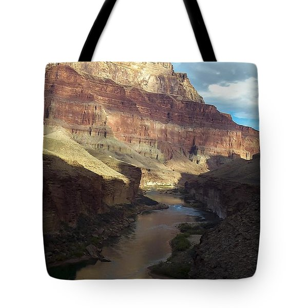 Chuar Butte Colorado River Grand Canyon Tote Bag