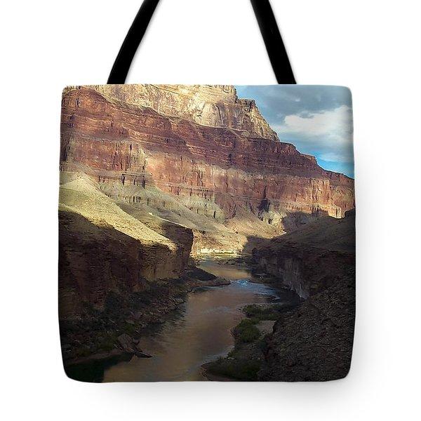 Chuar Butte Colorado River Grand Canyon Tote Bag