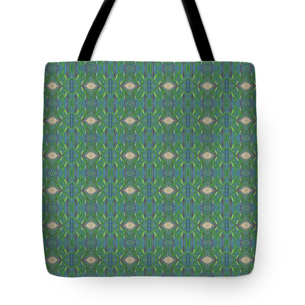 Tote Bag featuring the mixed media Chuarts Epic Pr 7t2 by Clark Ulysse
