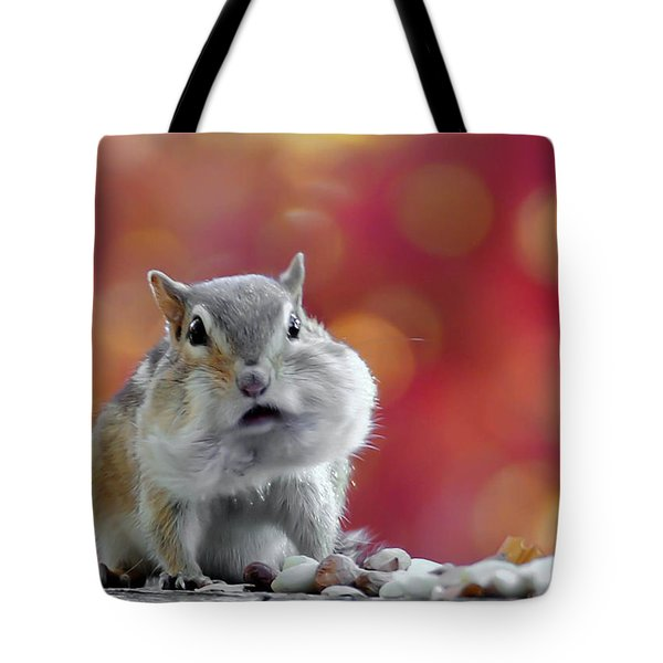 Tote Bag featuring the photograph Chubby Cheeks by Geraldine Alexander