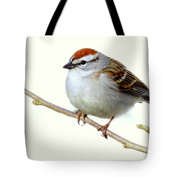 Chubby Sparrow Tote Bag