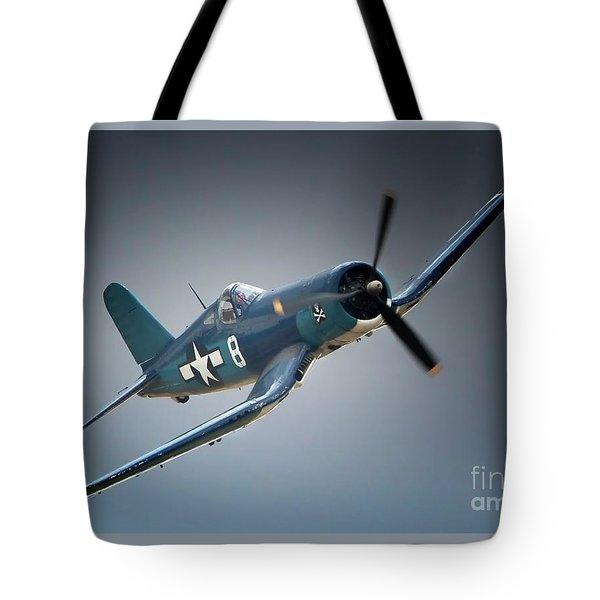 Chuck Wentworths F4u Corsair No.8 Tote Bag