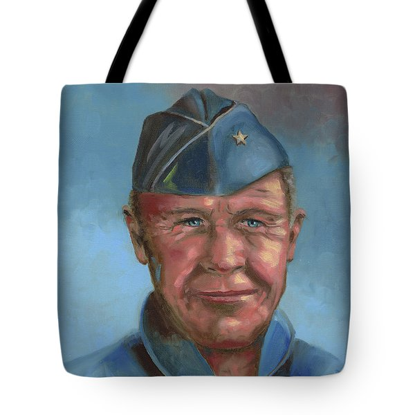 Chuck Yeager Tote Bag
