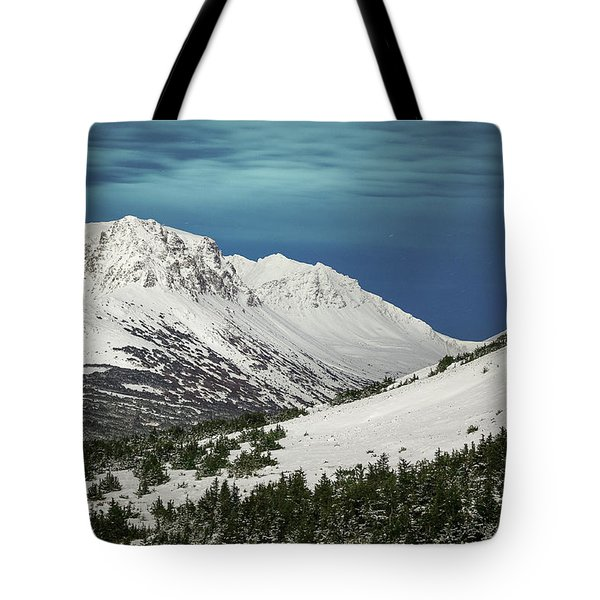 Chugach Night Tote Bag