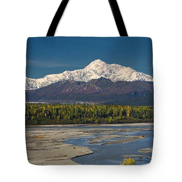 Chulitna's Path Tote Bag