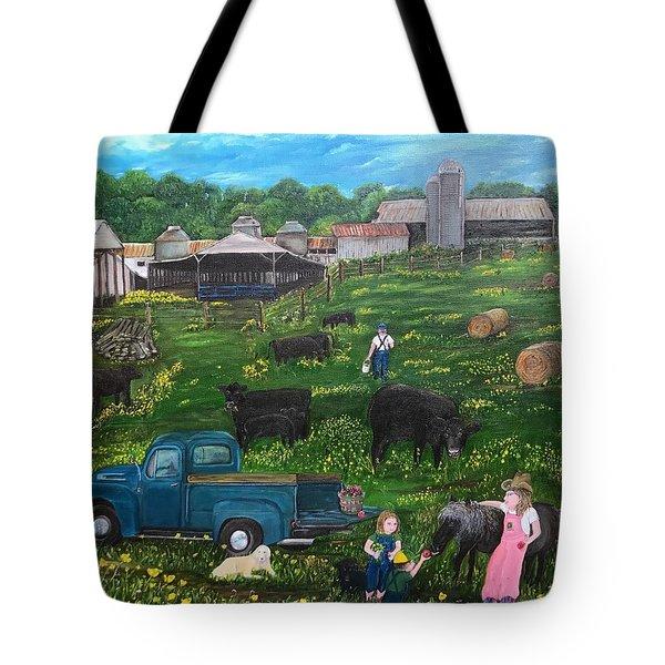 Chumhurst Farm Tote Bag