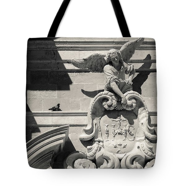 Church Angel Tote Bag