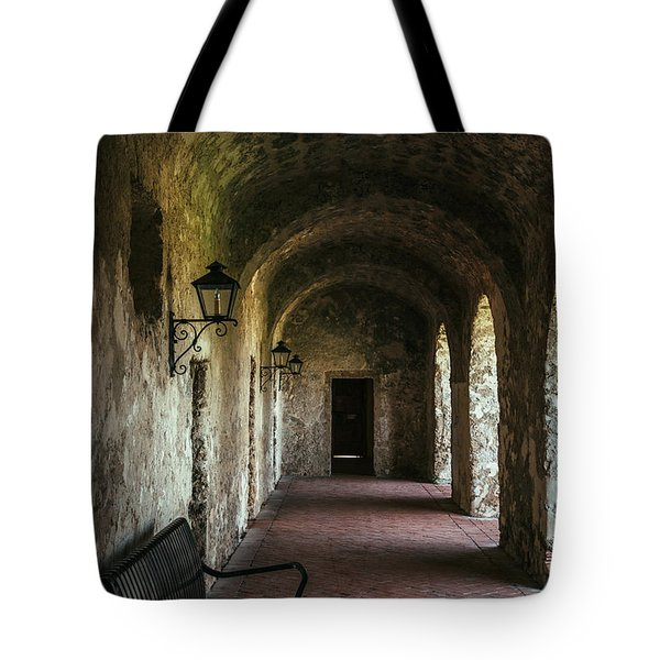 Church Arches Tote Bag