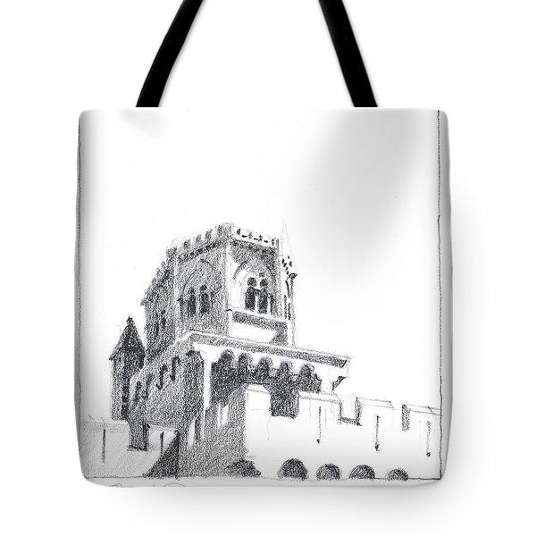 Church At Chamalieres Tote Bag