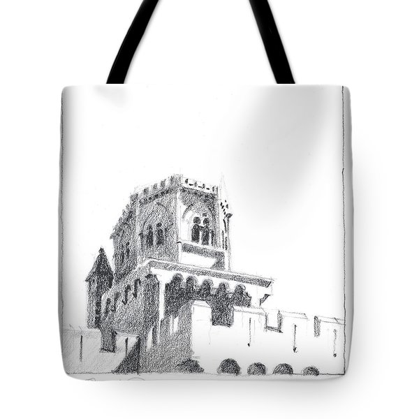 Church At Chamalieres Tote Bag