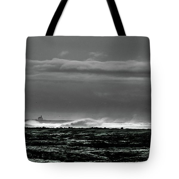Church By The Sea Tote Bag