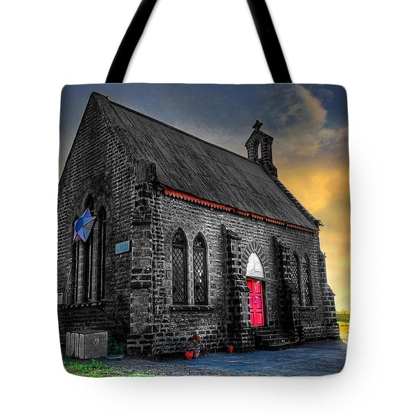 Church Tote Bag by Charuhas Images