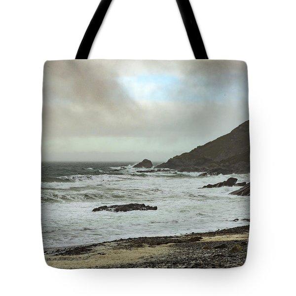 Tote Bag featuring the photograph Church Cove Gunwallow by Brian Roscorla