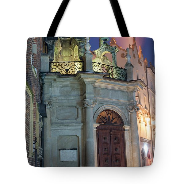 Tote Bag featuring the photograph Church Door by Juli Scalzi