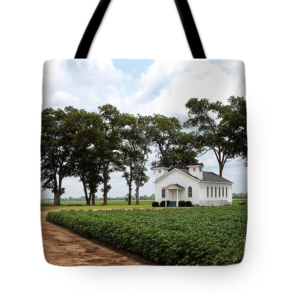 Church From The Help Movie In Mississippi Tote Bag