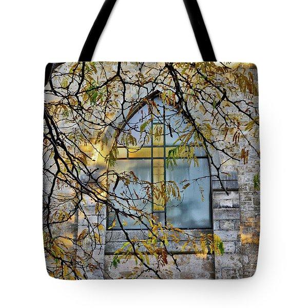 Church Ghost Tote Bag