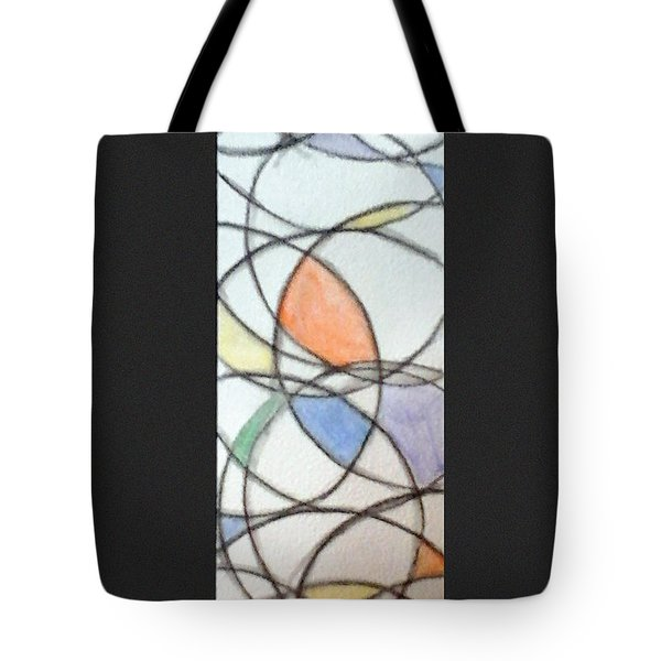 Church Glass Tote Bag