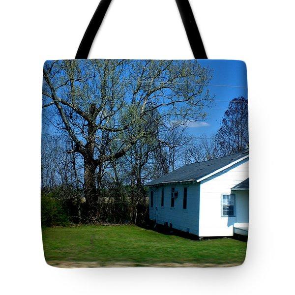 Church Highway 61 Tote Bag
