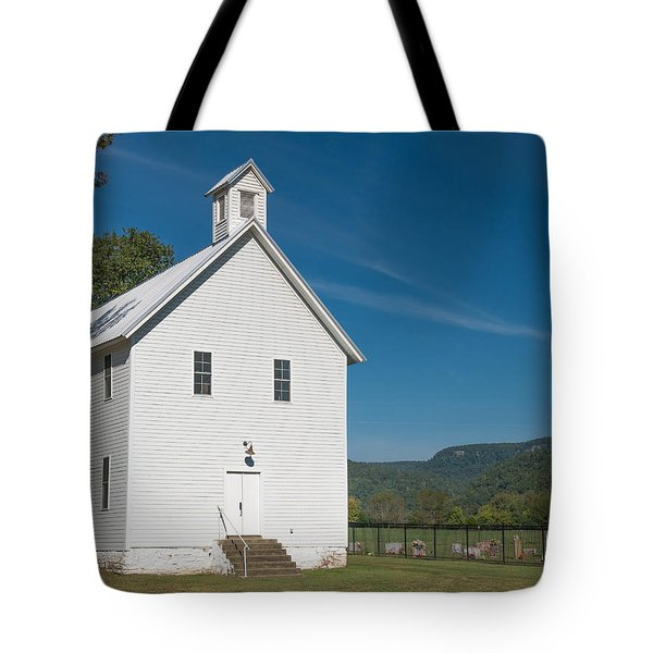 Church House In The Ozarks Tote Bag