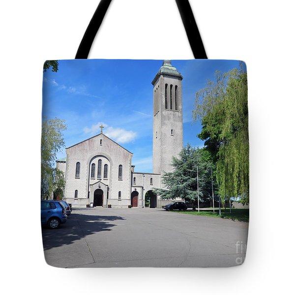 Church In Dunboyne Ireland Tote Bag