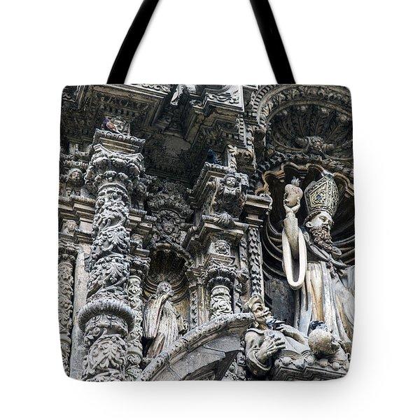 Church In Lima Tote Bag