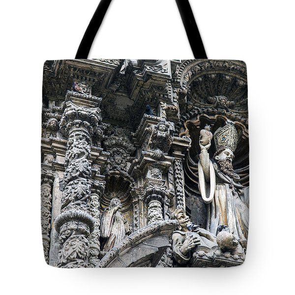 Church In Lima Tote Bag