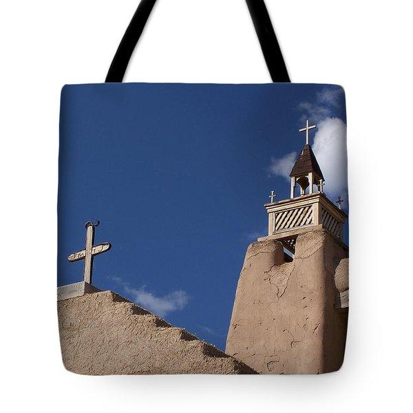 San Jose De Gracia Church, Las Trampas, N.m. Tote Bag