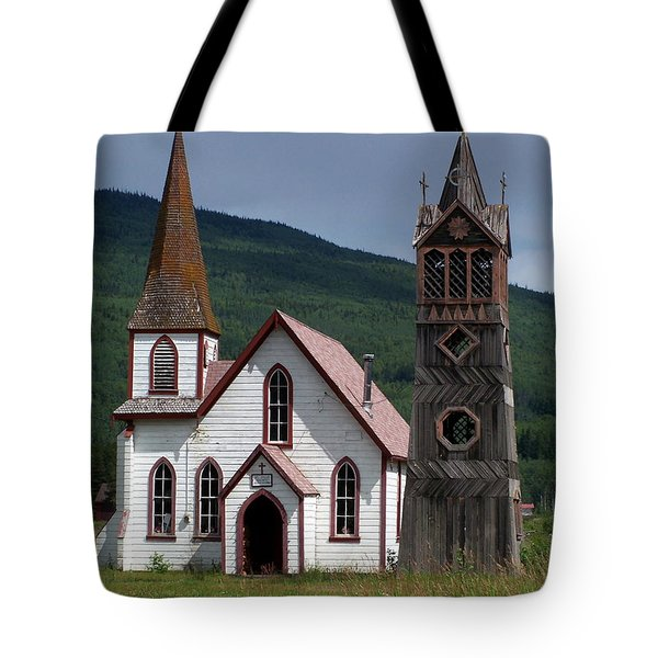 Church Tote Bag by Marty Koch