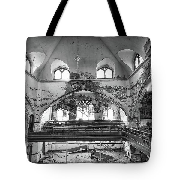 Church Murals Tote Bag