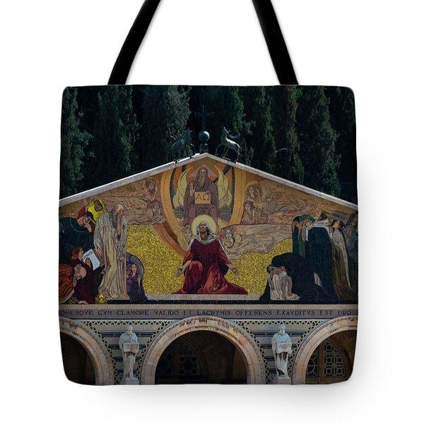 Church Of Gethsemane Tote Bag