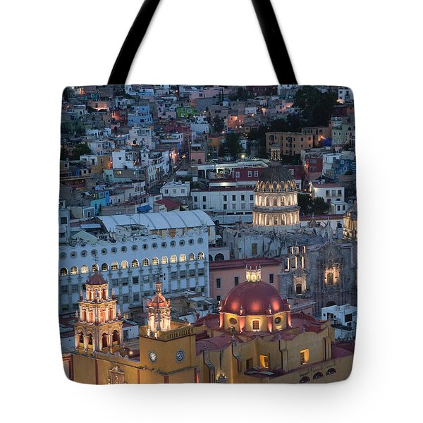 Church Of  Guanajuato Tote Bag