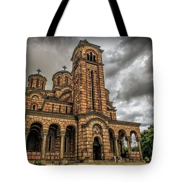 Church Of Saint Mark Tote Bag