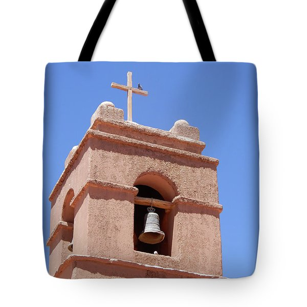 Church Of Socaire Tote Bag