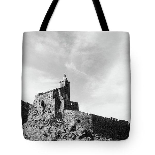 Church Of San Pietro II Tote Bag by Joseph Westrupp