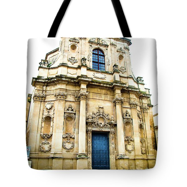 Church Of St Chiari Tote Bag