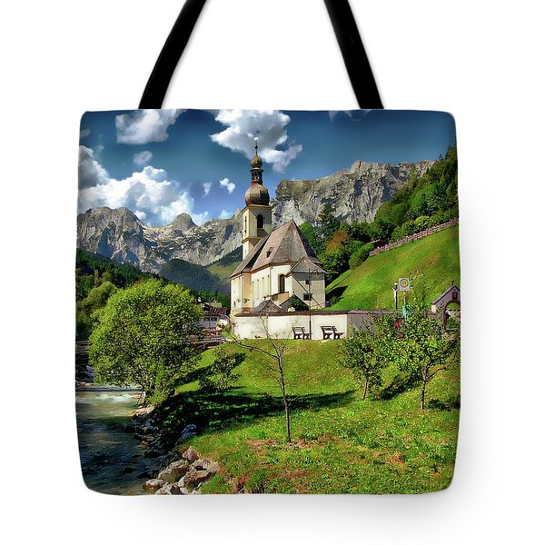 Church Of St. Sebastian Tote Bag
