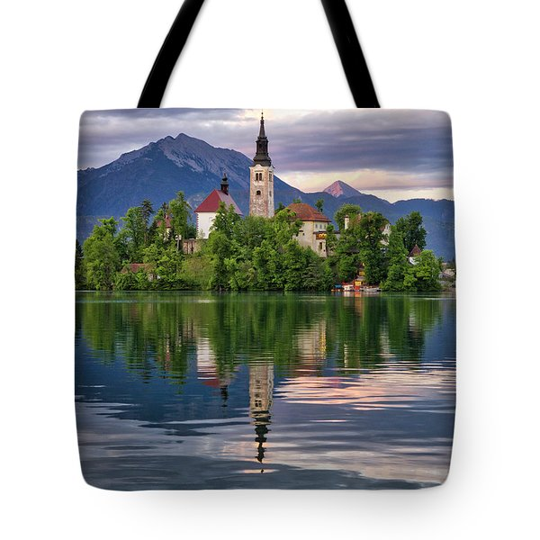 Church Of The Assumption. Tote Bag