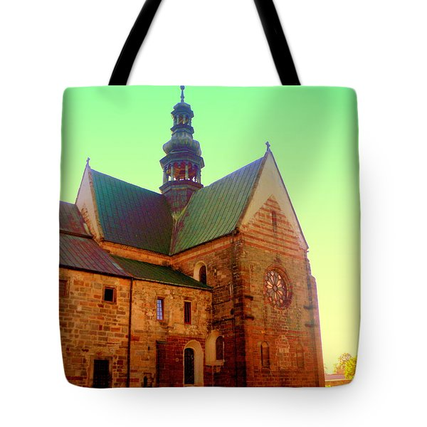 Church Of The Blessed Virgin Mary And St. Florian In The Wachock Tote Bag