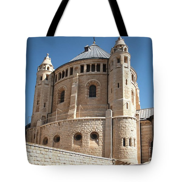 Tote Bag featuring the photograph Church Of The Dormition by Mae Wertz